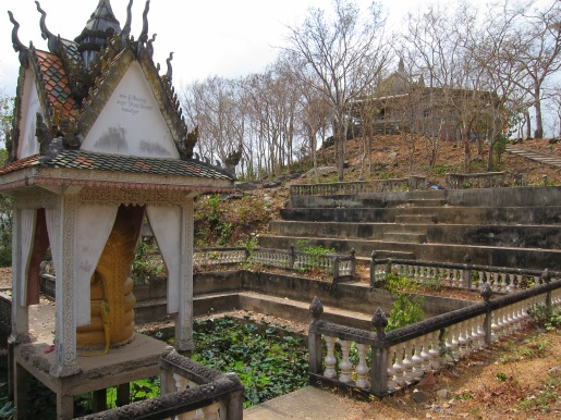 temple and buddha